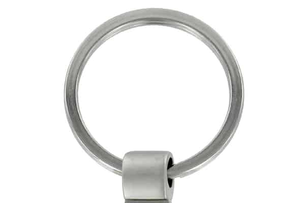 Sample Diecast keyring with Split Ring
