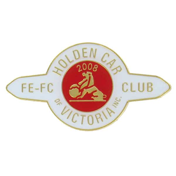 Customised Metal Pins & Badges for Clubs & Sporting Organisations